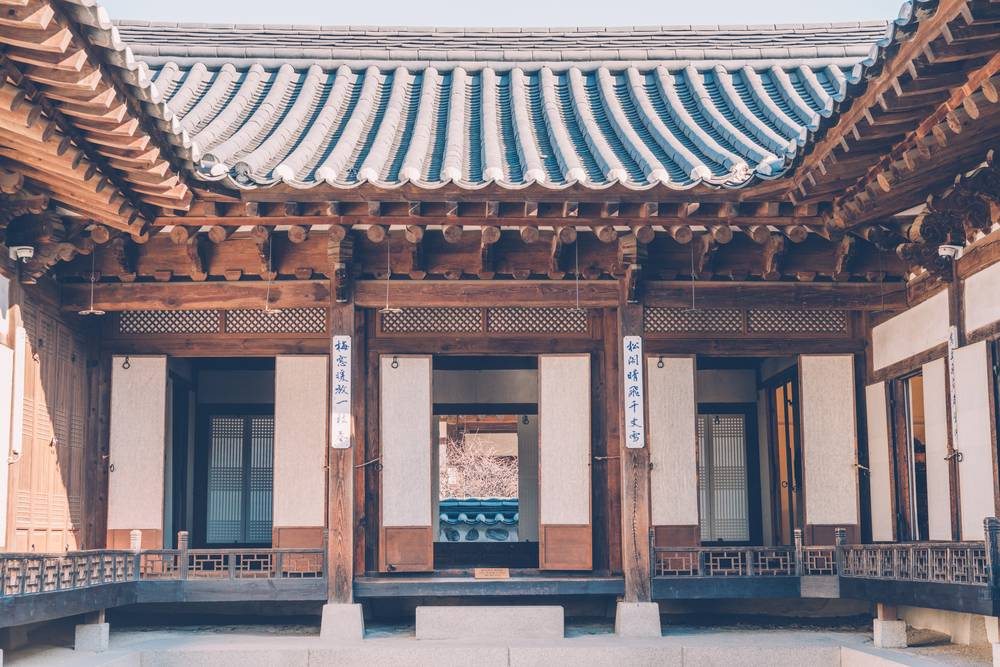 korea traditional guesthouse hanok