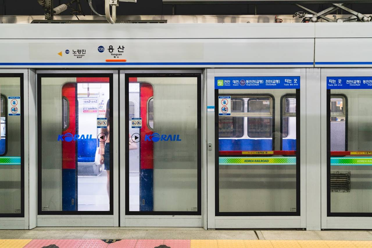 seoul south korea subway metro