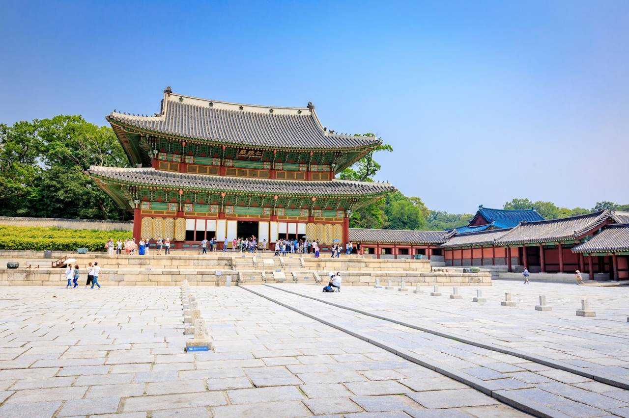 seoul southkorea changdeokgung traditional royal palace