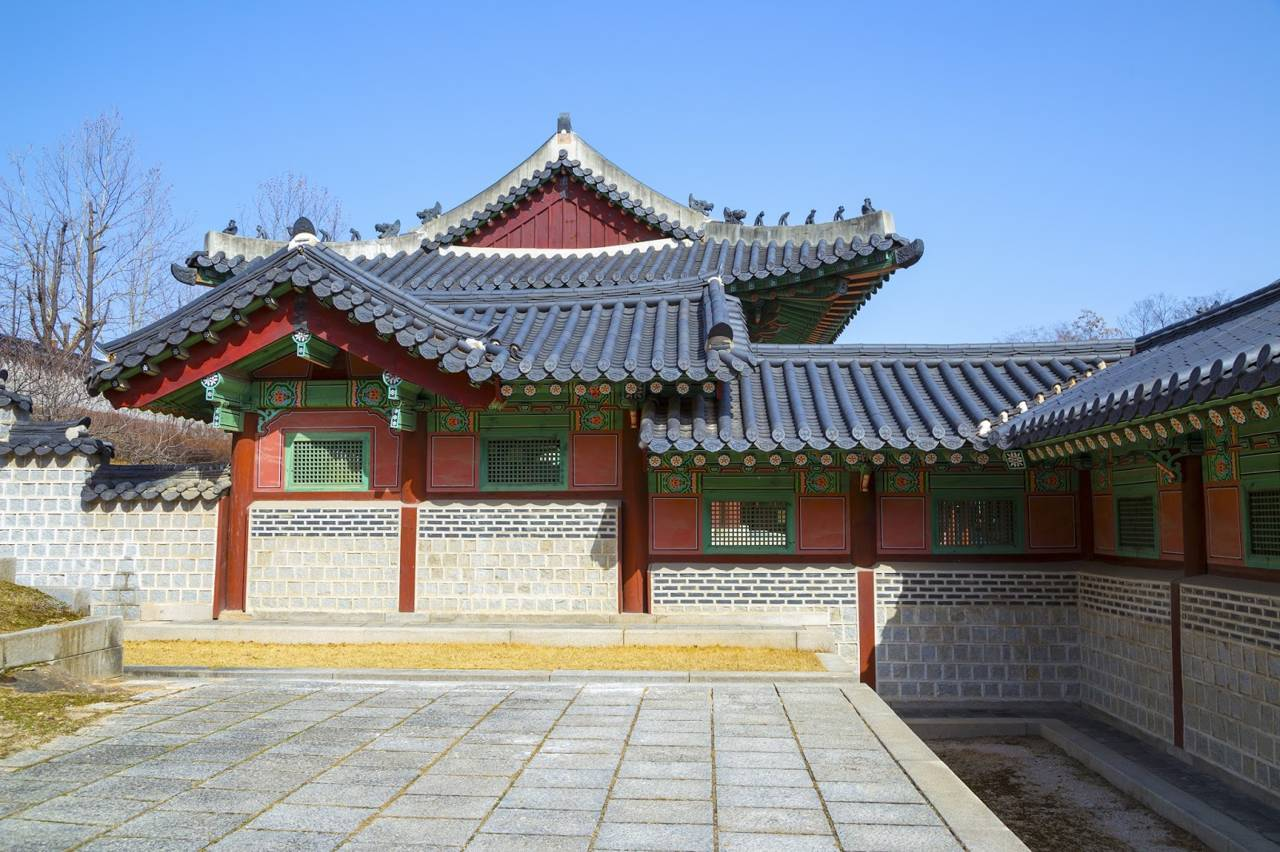 seoul southkorea gyeonghuigung traditional royal palace
