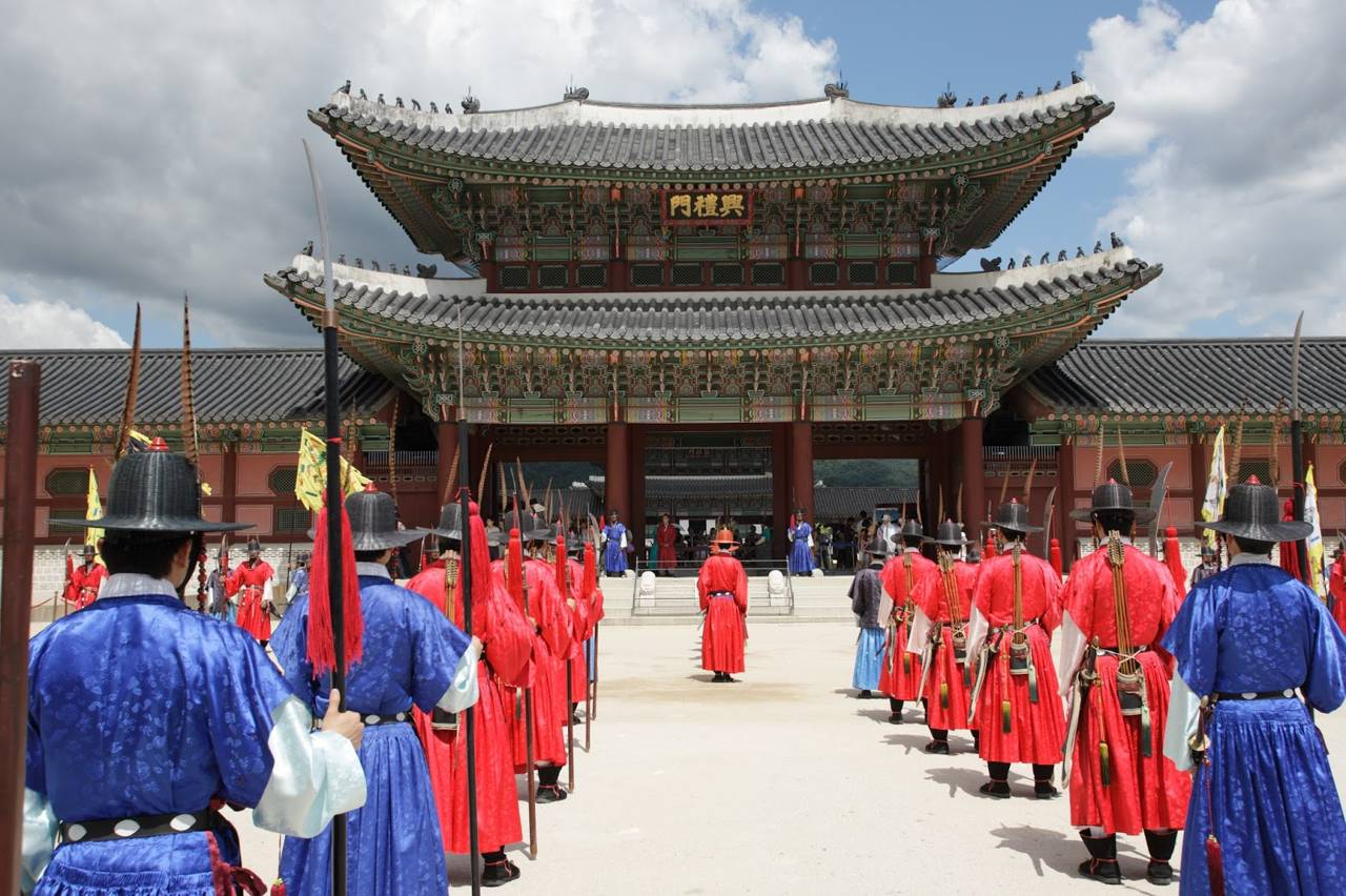 seoul southkorea gyeongbokgung traditional royal palace