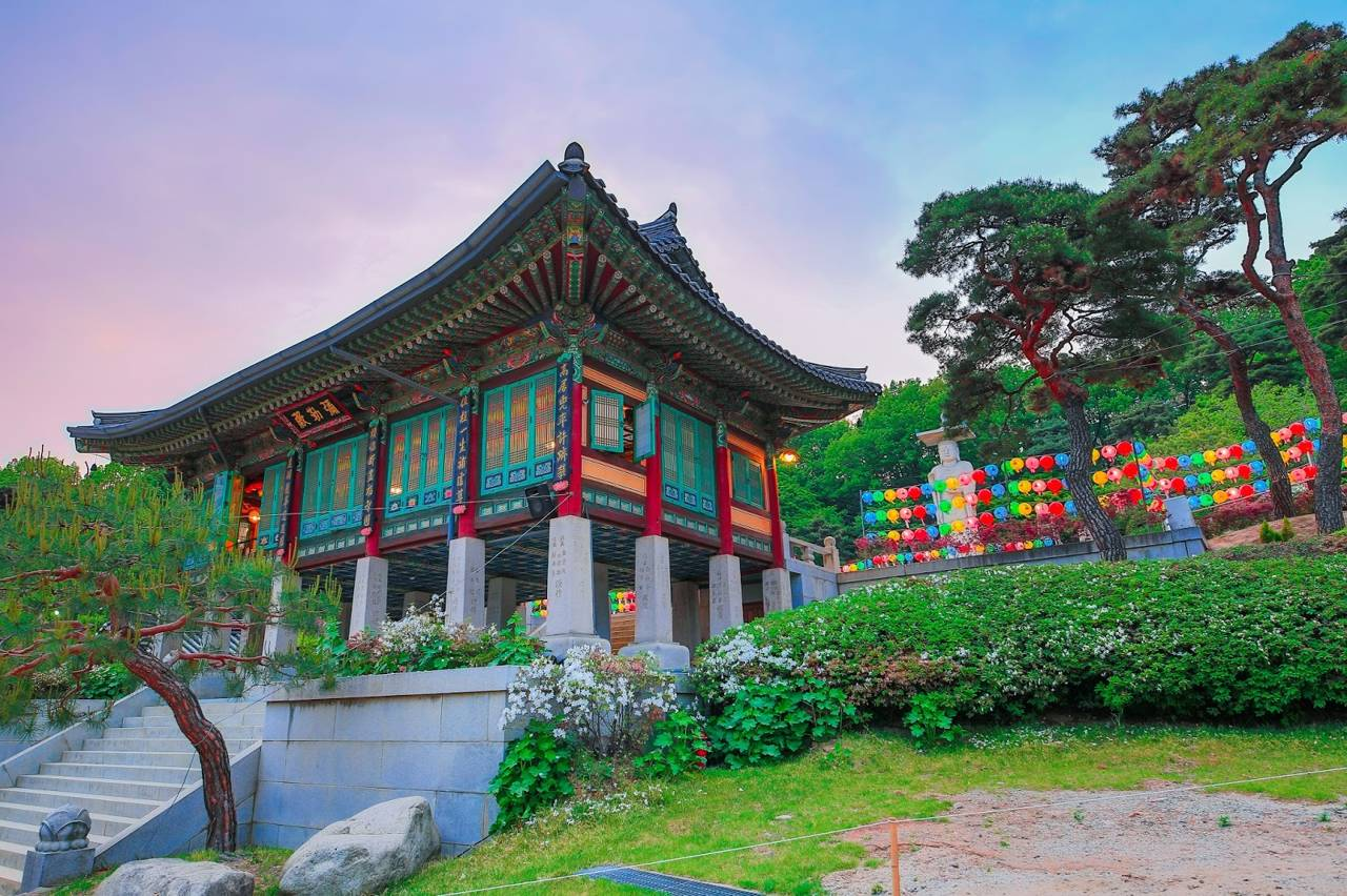 korea busan attraction Beomeosa Temple Geumjeongsan