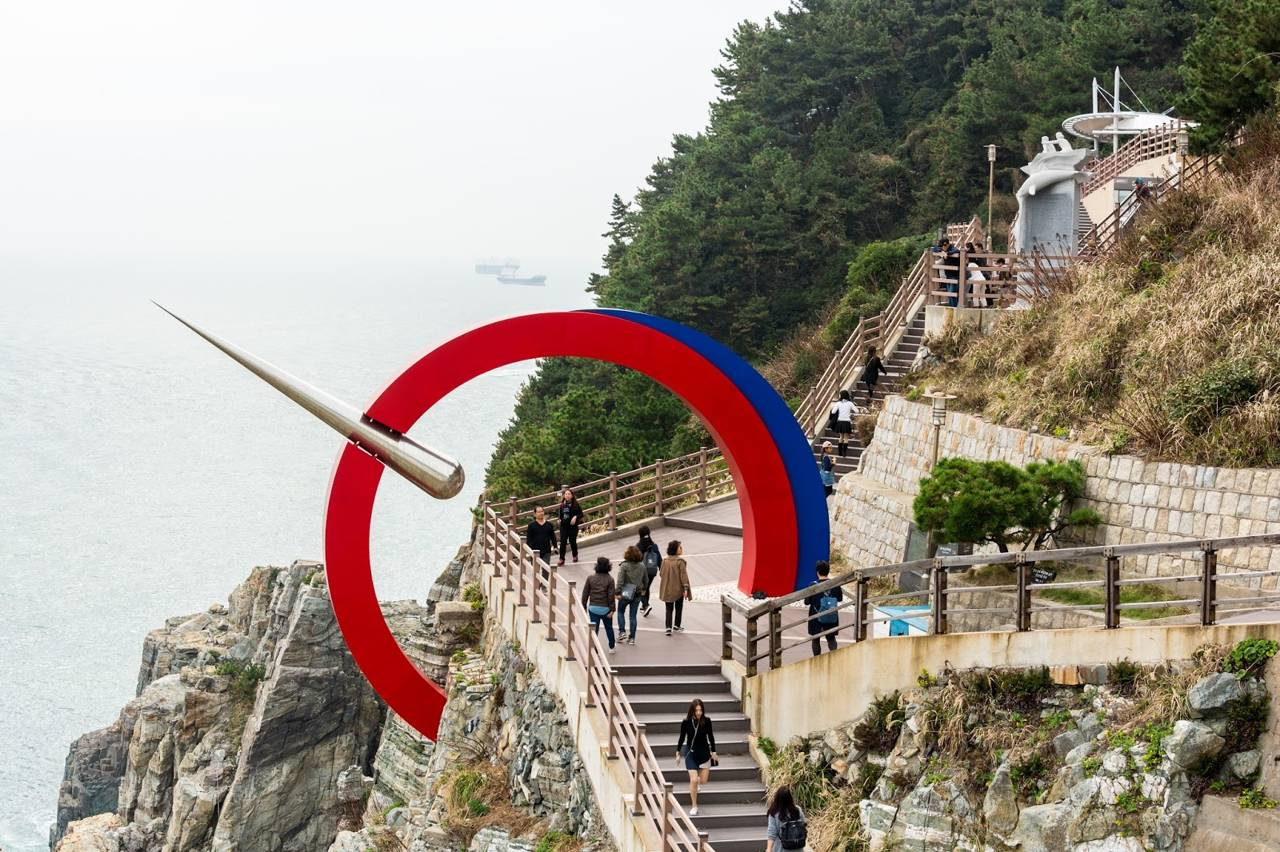 korea busan attraction Taejongdae Recreation Park