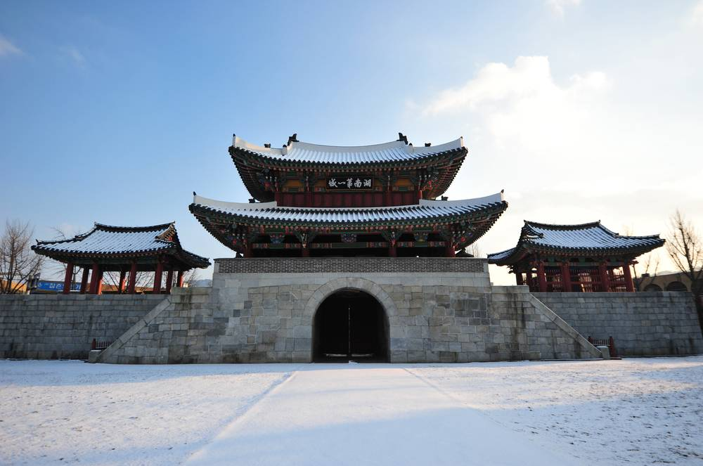 korea jeonju travel pungnammun gate historic traditional architecture