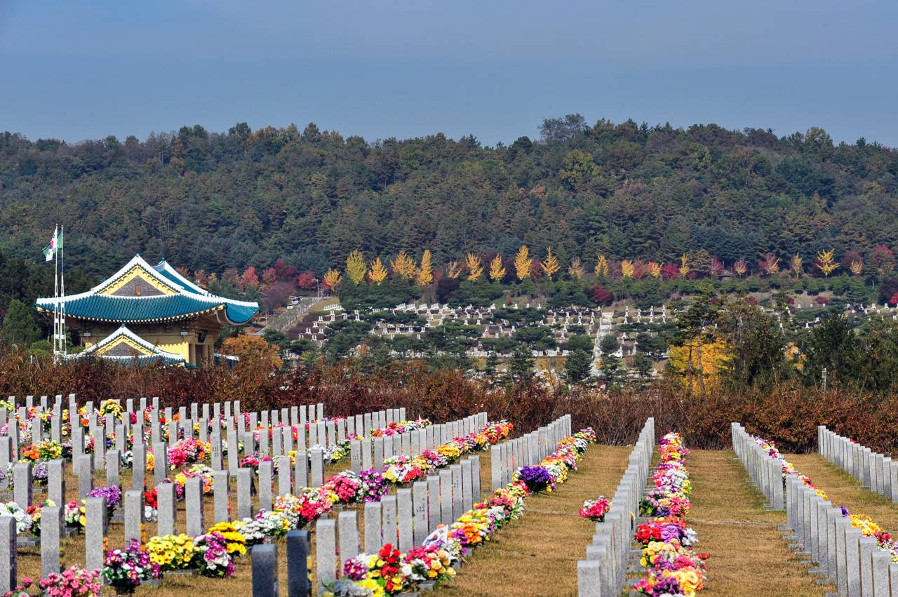 Daejeon South Korea Travel Daejeon National Cemetery Serene Patriots Metropolis Science Technology History Nature