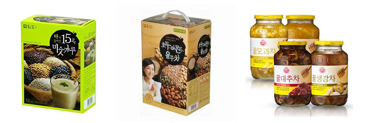 Korea Travel Shopping Instant food Instant noodles Instant coffee Korean fruit tea Mixed grain nuts