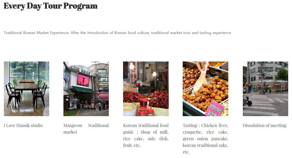 I love hansik food tour korea seoul korean food cuisine culinary tour food tour