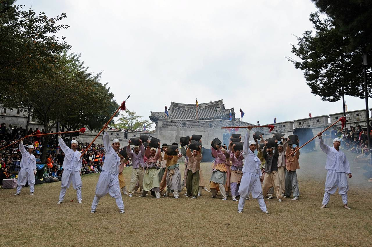 Busan festival Dongnaeeupseong History and Culture Festival tradition activity performance musical