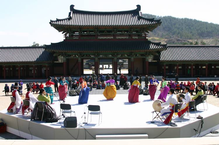 South Korea Travel Buyeo Historic History Baekje Cultural Land Castles Tourist Attraction Recreation